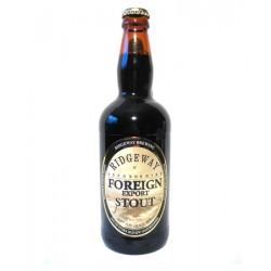 Bezlepkové pivo Ridgeway Foreign export stout